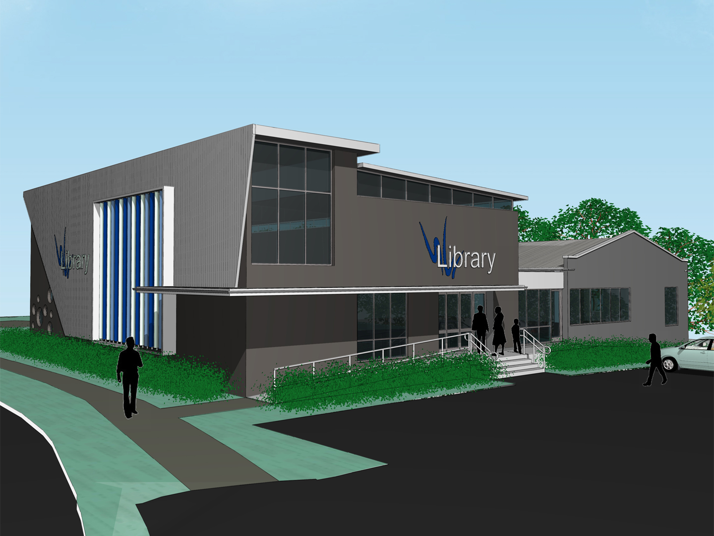 Maleny Library Extension