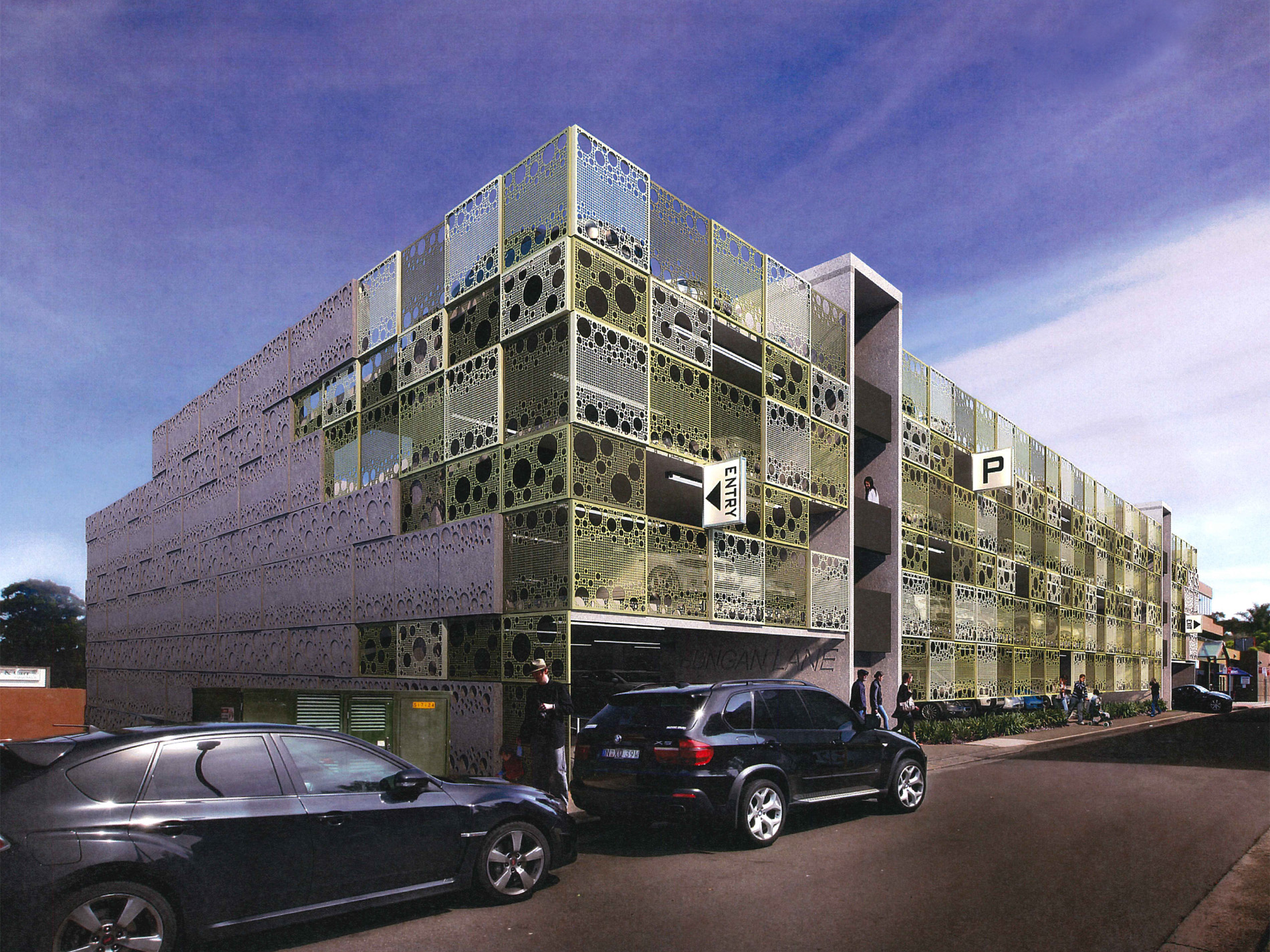 Bungan Lane Multi-Storey Car Park