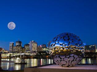Golden Casket Light Sphere
