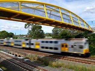 Leumeah Pedestrian Bridge