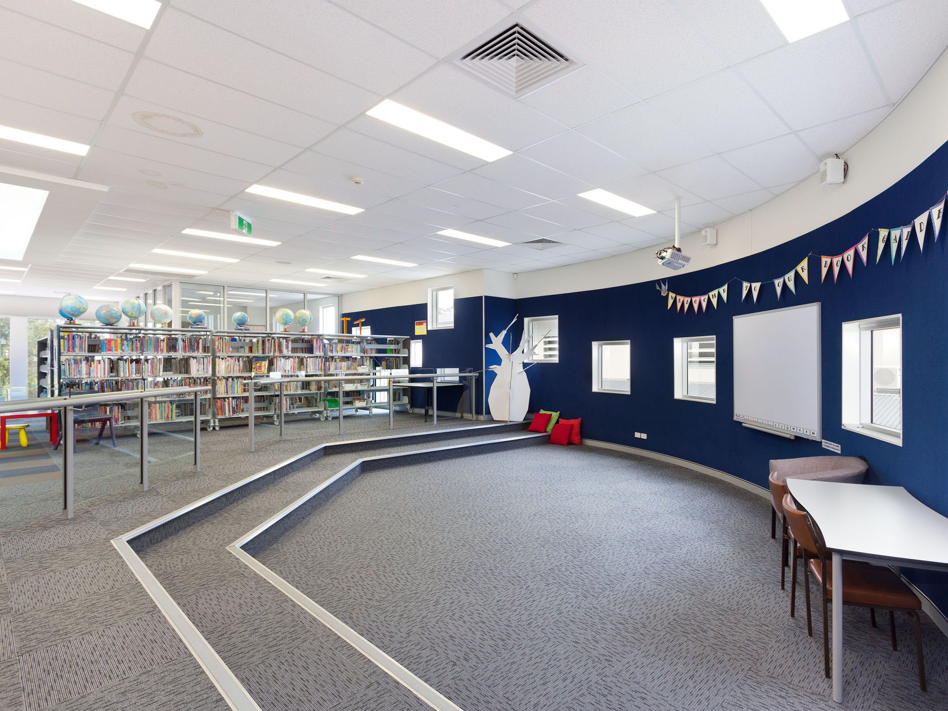 New Library and Classroom Refurbishment