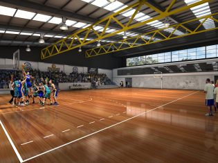 Auburn Basketball Centre Upgrade