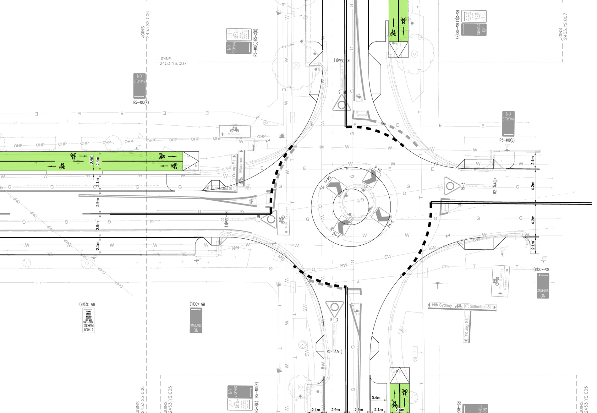 Route 2 Cycleway and Streetscape Improvement