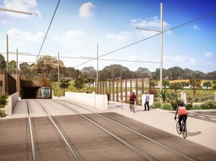 Sydney Light Rail Representation