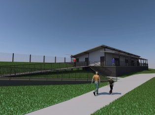 Nolan Park BMX Clubhouse Concept Design