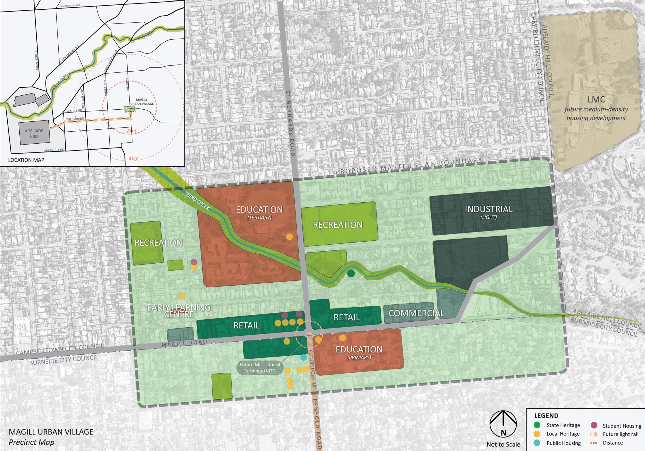 Magill Urban Village Masterplan