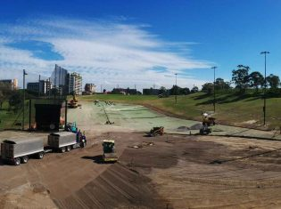 Moore Park Golf Driving Range Synthetic Surfacing